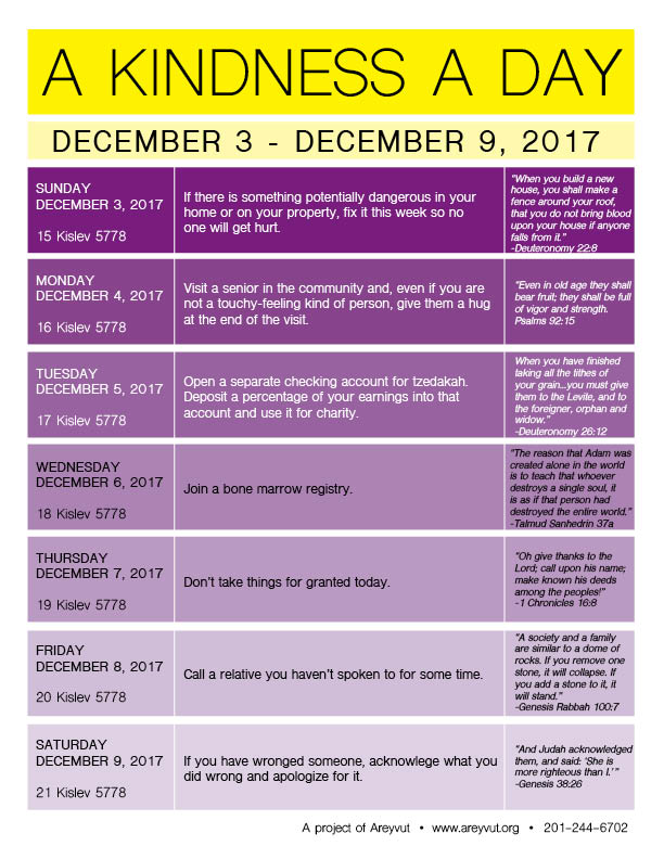 December 3-9, 2017