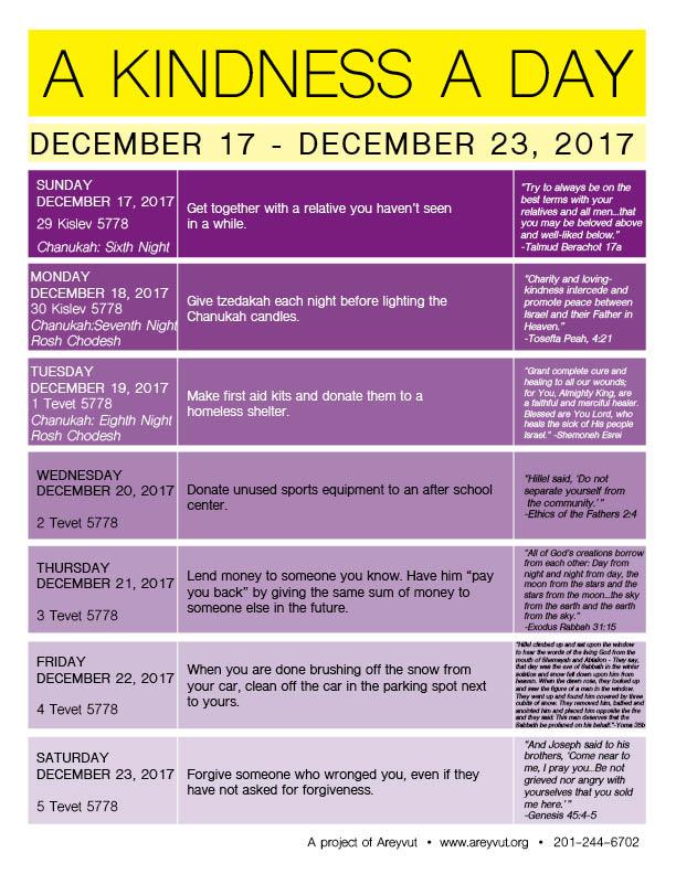 December 17-23, 2017