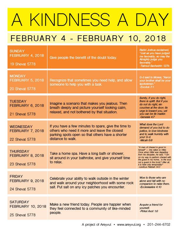 February 4-10, 2018