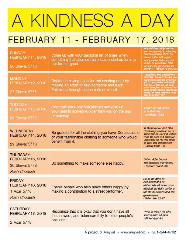 February 11-17, 2018
