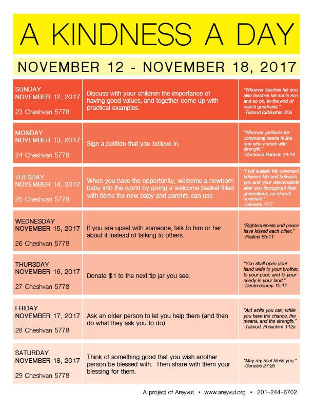 November 12-18, 2017