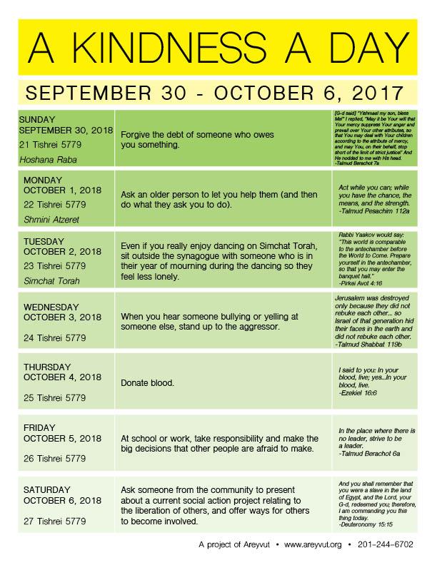 September 30-October 6, 2018