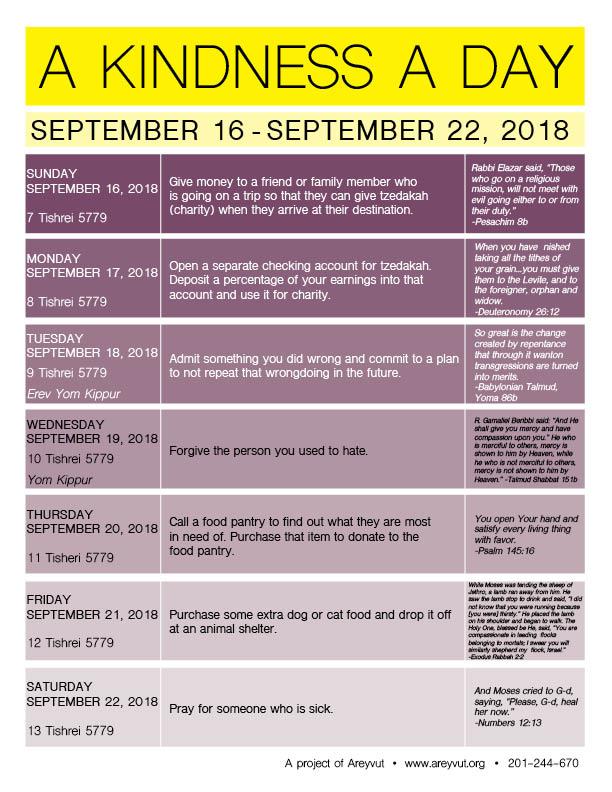 September 16-22, 2018