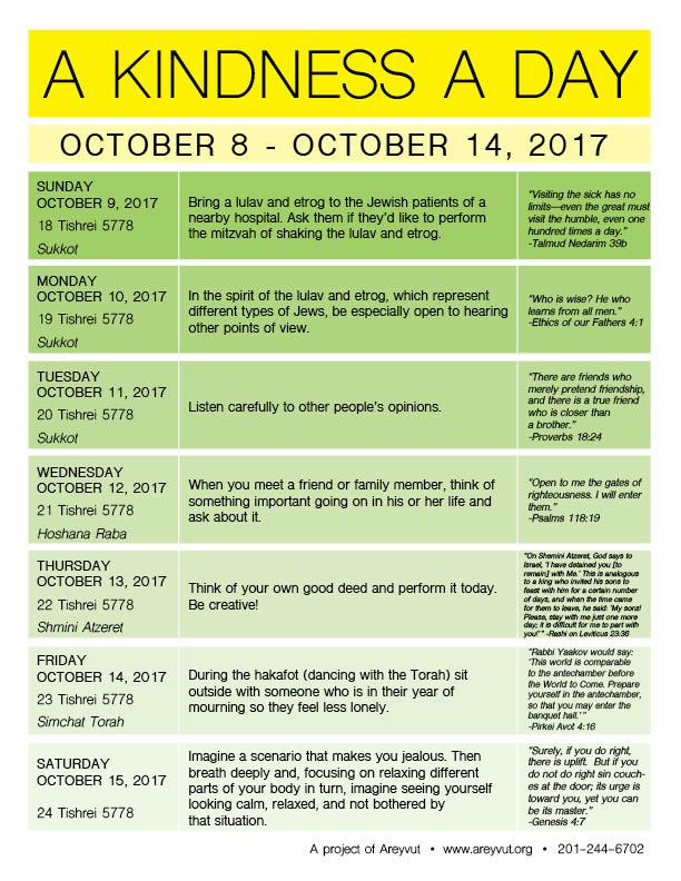 October 8-14, 2017